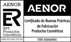 Certificado de Buenas Prácticas de Fabricación Productos Cosméticos