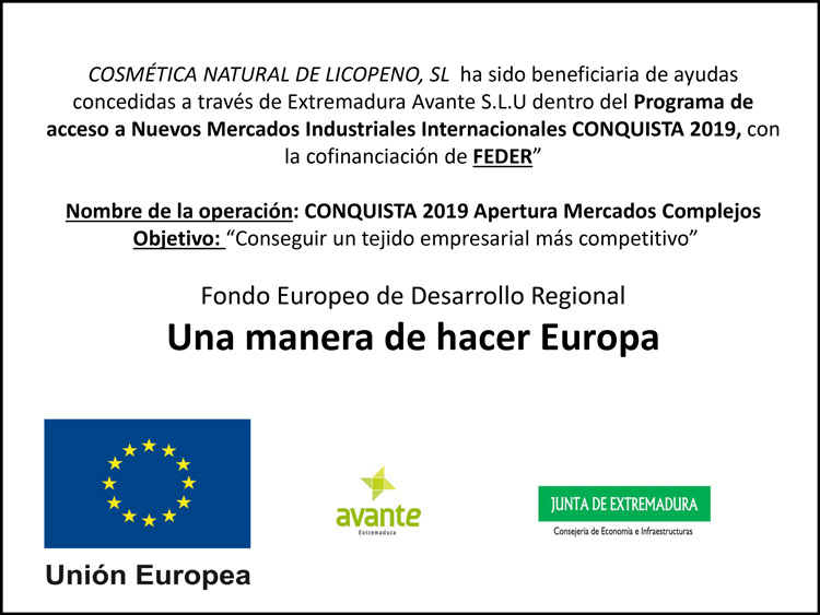 Programa CONQUISTA 2019 - Apertura Mercados Complejos