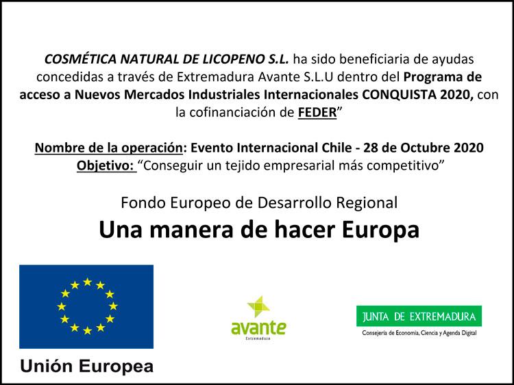 Programa CONQUISTA 2020 - Evento Internacional Chile
